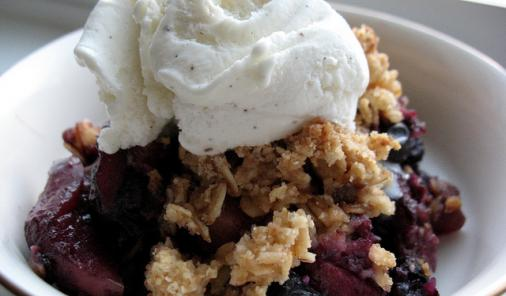 Apple Blueberry Crumble Recipe