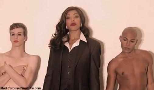 'Blurred Lines' in Gender Bending Parody