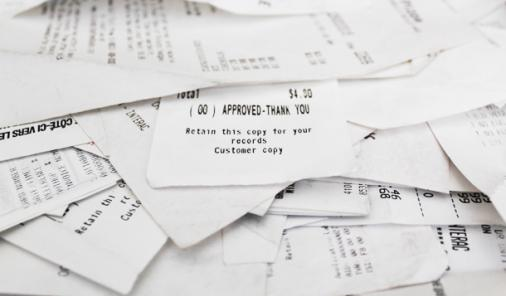 There May Be BPA In Your Cash Register Receipts