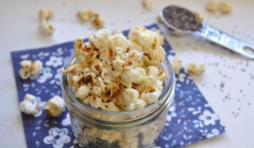 Chia Seed Popcorn Recipe