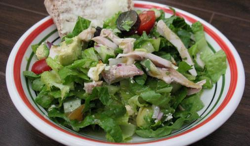 Chicken Salad with Feta and Grapes Recipe