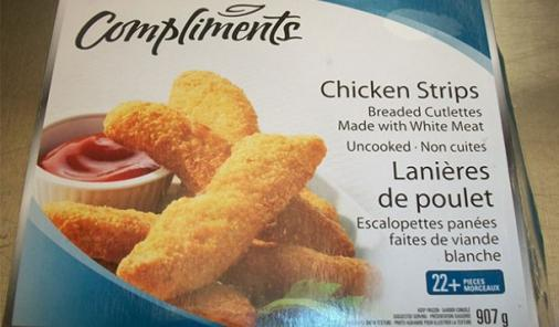 RECALL: No Name and Compliments Frozen Chicken Products