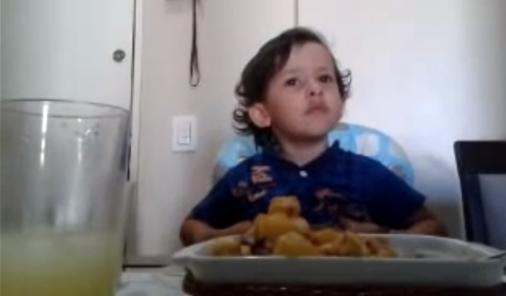 child not liking food