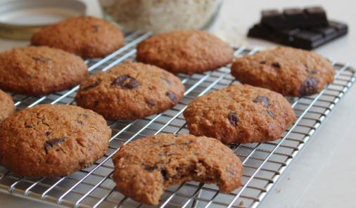 Chocolate Oat Cookies Recipe