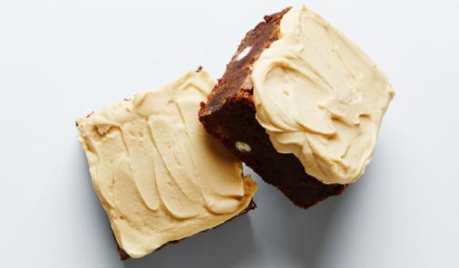 Triple Chocolate Coffee Brownies