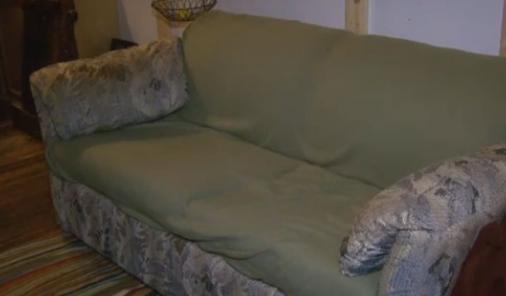 money hidden in couch