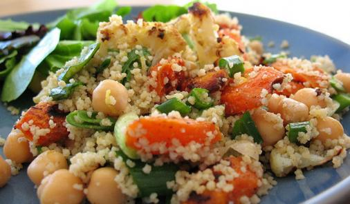 Couscous Salad with Roasted Vegetables Recipe