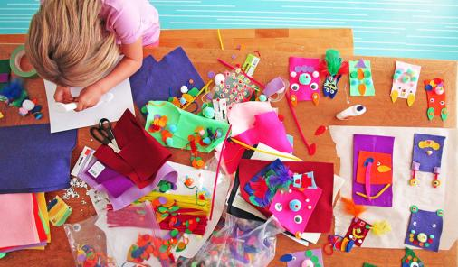 When it comes to certain art materials, you really can't beat the dollar store.   Crafts   YummyMummyClub.ca