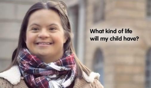 down syndrome child speaks out