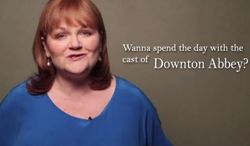 contest to meet cast of downton abbey