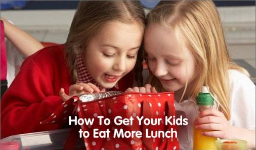 students eat more lunch