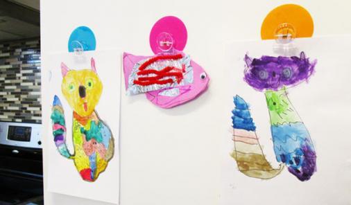 Creative Ways to Display Your Children's Art