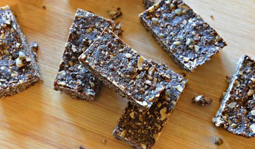 vegan sugar-free nut-free gluten-free energy bars