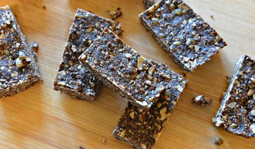 vegan sugar-free nut-free gluten-free energy bars
