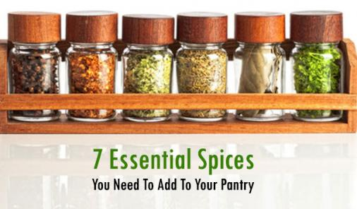 Top 7 Spices Every Kitchen Must Have