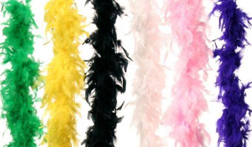 RECALL: Feathered Boas From Danson Decor And Michaels