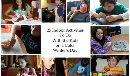 25 Indoor Activities To Do On A Cold Winter's Day