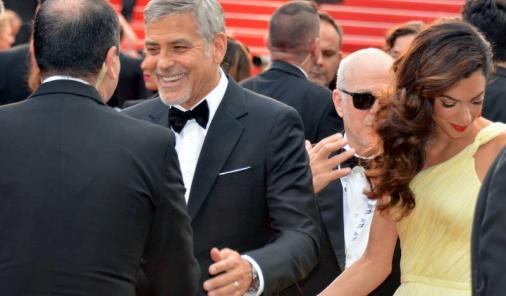 George and Amal Clooney babies