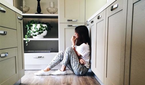 Finding Myself on the Kitchen Floor