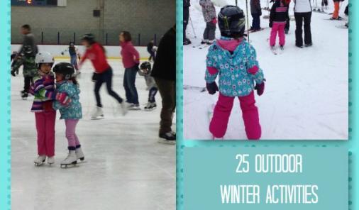 25 Fun Outdoor Winter Activities
