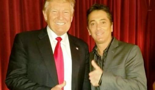 Scott Baio and Donald Trump