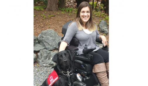 Service Dog Gives a Young Woman Independence