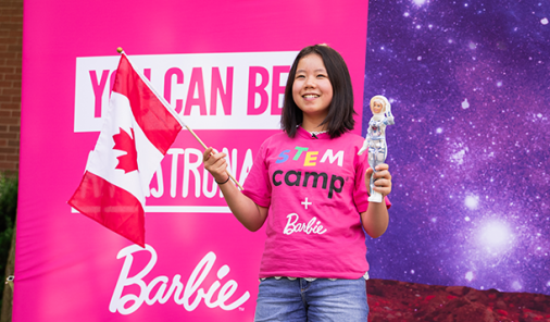 Barbie Launches into Space