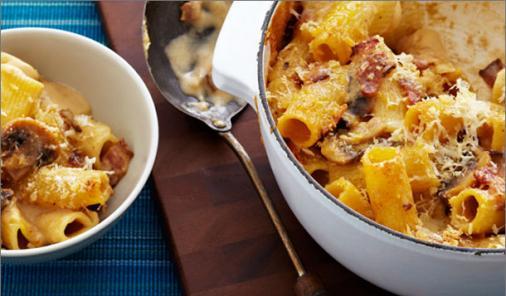 Aged Cheddar and Parmesan Mac n' Cheese