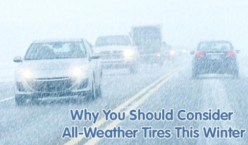 Why You Should Consider All-Weather Tires This Winter