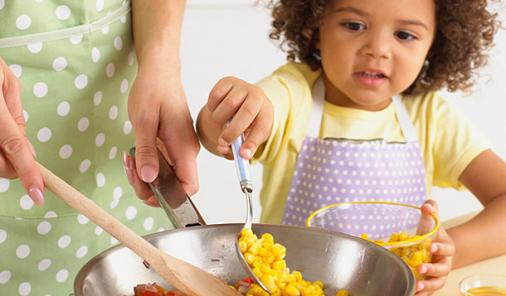 Safe Cooking with Kids