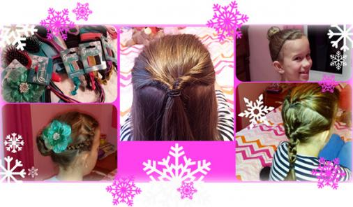 Simple Holiday Hair Tutorials For Girls