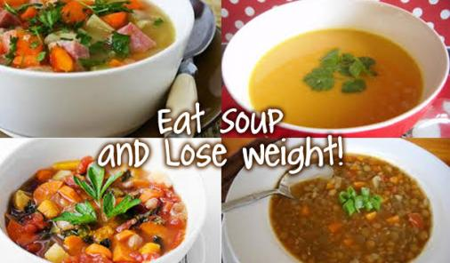 eat soup and lose weight