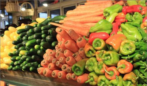 fresh produce farmers market
