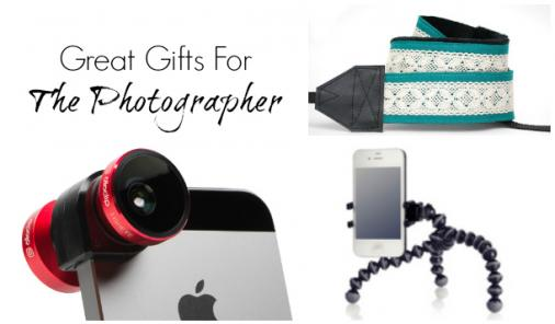 Great Gifts For The Photographer In Your Life