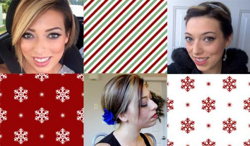 3 Sassy Holiday Party Looks for Short Hair