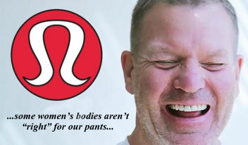 lululemon pants no right for some women