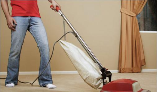 man doing housework