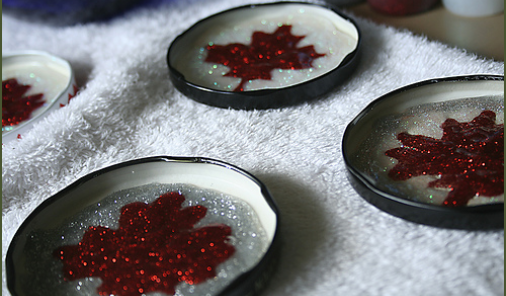 maple leaf craft for Canada Day