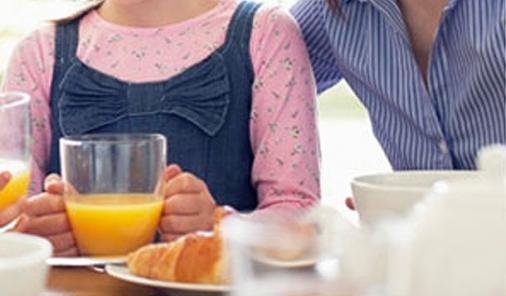 ordinary breakfast day