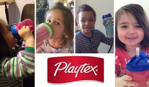 Moms and Kids Put Playtex Occasion-based Cups To The Test