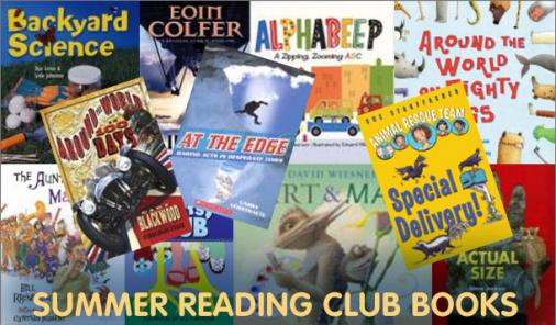 summer reading club books