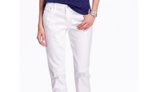 Old Navy White Jeans | YummyMummyClub.ca