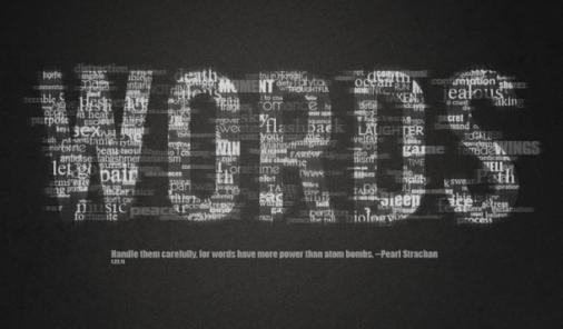 words have power to hurt