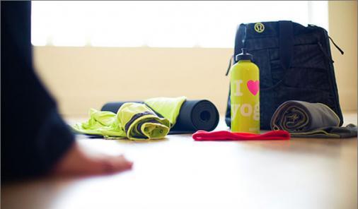 yoga gear checklist