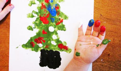 All Hands on Deck for These Holiday Keepsake Paintings