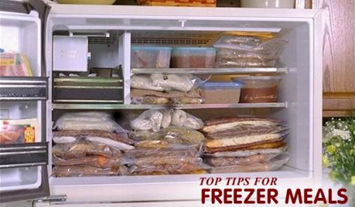 tops to make freezer meals
