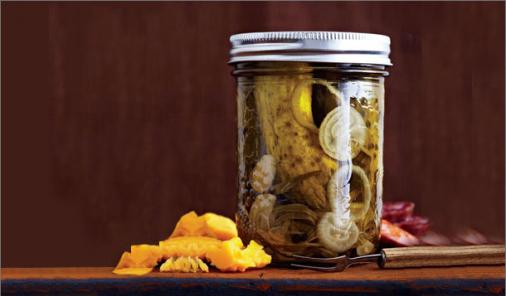French-Style Sour Pickled Gherkins Recipe