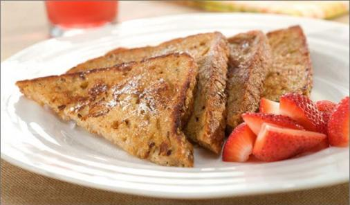Whole Grain Cinnamon French Toast
