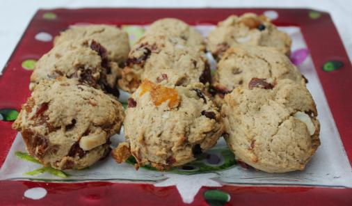 Fruitcake Cookies - All the flavour, none of the fuss with these make-ahead holiday favourites.  | Christmas | YMCFood | YummyMummyClub.ca