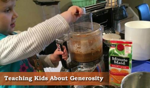 How I'm Teaching My Daughter The Importance of Generosity